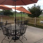 Our patio and grill is open daily for guest use.