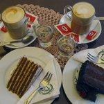 кофе и тортики