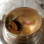 quenelle brochet - morilles - cuisse de grenouille - sauce nantua