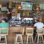 The Dockside bar.