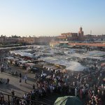 Markets outside the Medina
