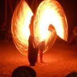 Fire-шоу на пляже