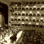 Stage and interior of La Fenice