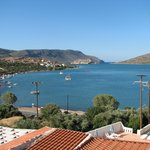 View from room 301 towards Spinalonga