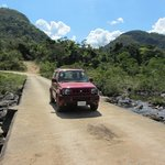 Caracol road with our Jimny