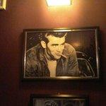 Sala com fotos - Holywwood: james Dean