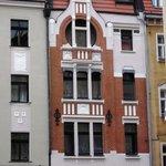 Fassade gegenüber Hotel Europa