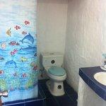 Baño habitación segundo piso