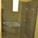 Shower - Master bathroom