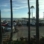 View from the rooftop bar area of Venice Whaler
