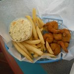 Shrimp lunch basket