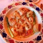 La matelote de poissons et crustaçés comme en Alsace, sauce homardine au champagne