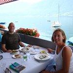 Terrasse Seerestaurant Zugersee Lido