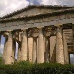 Temple of Hephaestus, West side