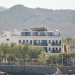 Hotel Cemre from the sea