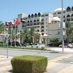 Zabeel Saray Hotel Front