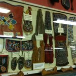 Historical Display Related to Native American Culture