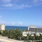 View facing the ocean