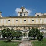 La Certosa vista dal Chiostro Grande