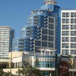 Vista do Hotel Conrad