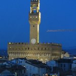 Palazzo Vecchio  from the Torre Guelfa tower