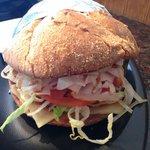 turkey breast sandwich with secret sauce