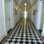 Corridors to rooms