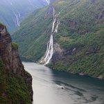 De bekende watervallen rondom het Geiranger fjord