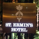 Sign & logo of St. Ermin's
