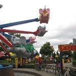 vue du parc d'attraction