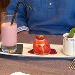 Strawberries three ways