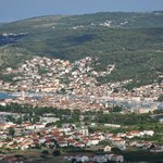 Trogir from nearby hills