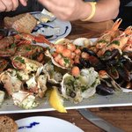Roast seafood platter! 