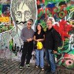 At the John Lennon Wall