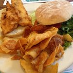 Fishwich. And AMAZING CHIPS!!!