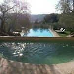 doppia piscina - piccola con idro