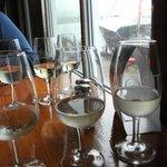 Wine samples
