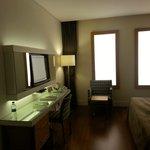 Windowless (but not dark) room