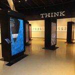 Touchscreen interactive informational kiosks.  Very cool!