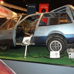 Electric car built by General Electric (circa 1970s)