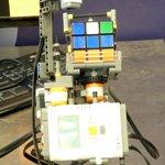 Rubik Cube Solver Machine