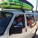 ready to surf with David and his team!!