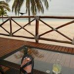 The Beach-side bar.