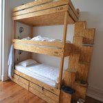 3 storey bunk beds, very sturdy and comfortable