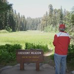 Crescent Meadow in Sequoia
