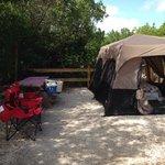 Bahia Honda campsite