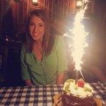 Yummy birthday cake!