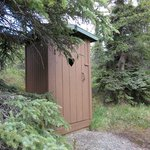 Our private outhouse