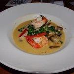 Seafood Luau.