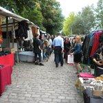 Tiergarten S-Bahn Flea Market